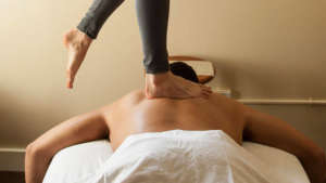 Ashiatsu Bar Therapy at Deep Tissue Massage Houston